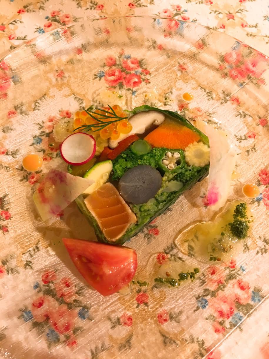 オーパヴィラージュの前菜