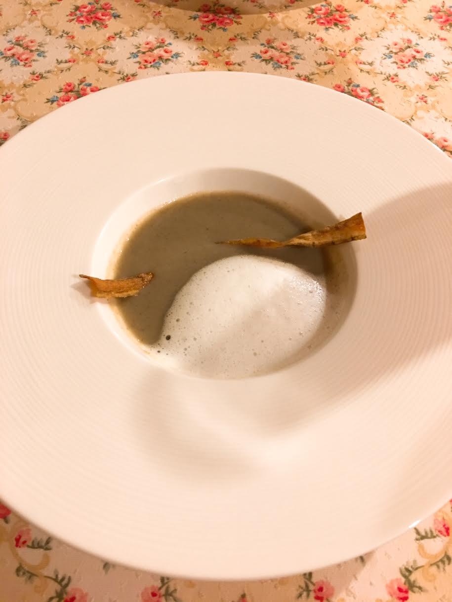 オーパヴィラージュのスープ