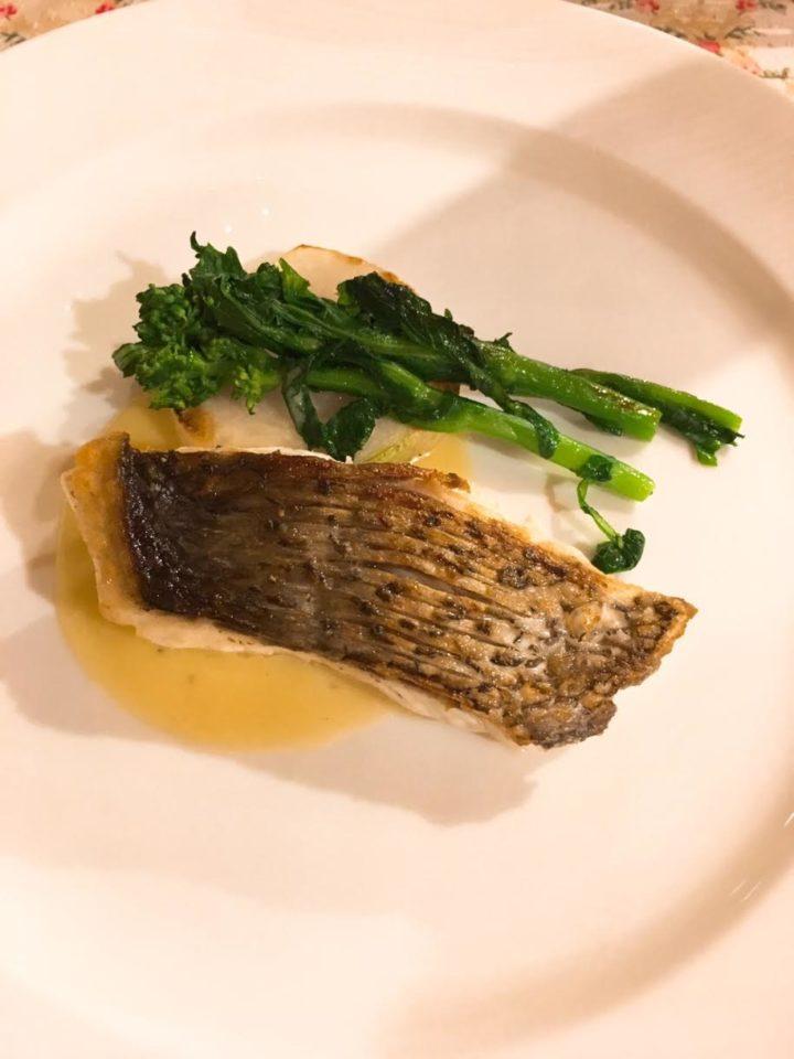 オーパヴィラージュの魚料理