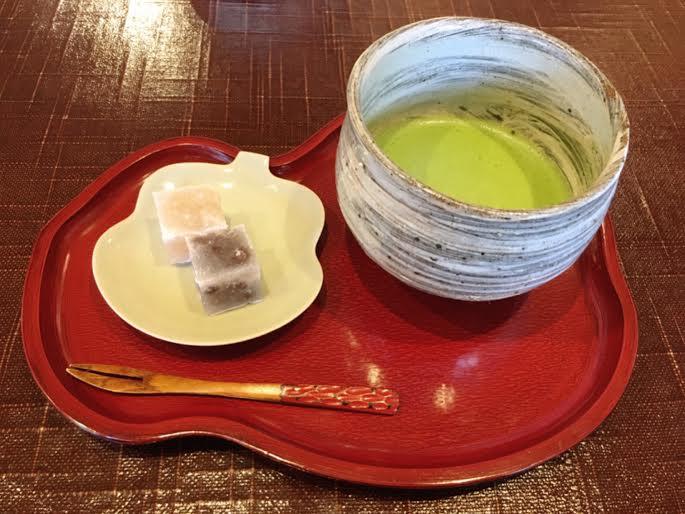 茶三楽のお抹茶