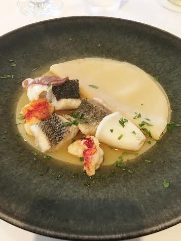 バスティーズの魚料理