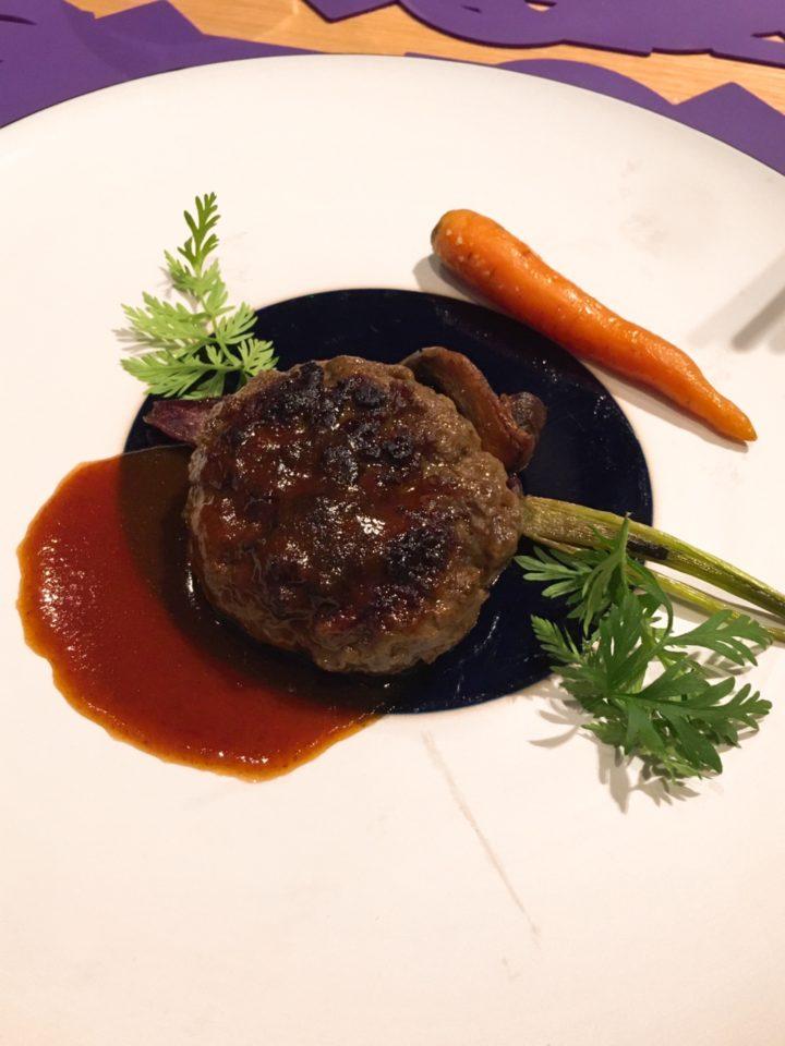 ビストロジョーの松阪牛のハンバーグ