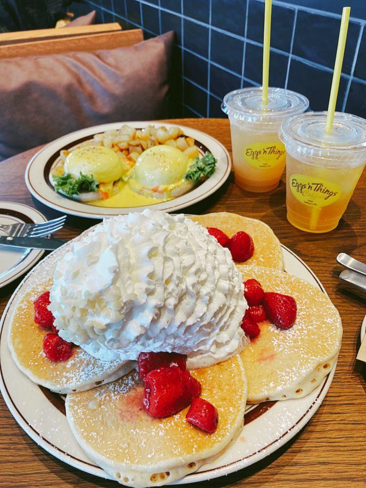 エッグシングスのパンケーキ