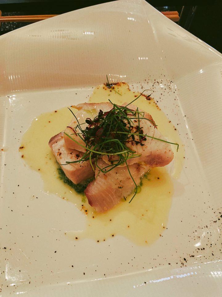 フォンテーヌブロー仙石亭の魚料理