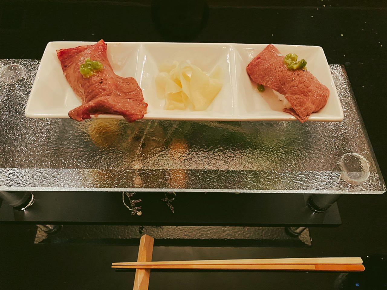 フォンテーヌブロー仙石亭〆の一皿