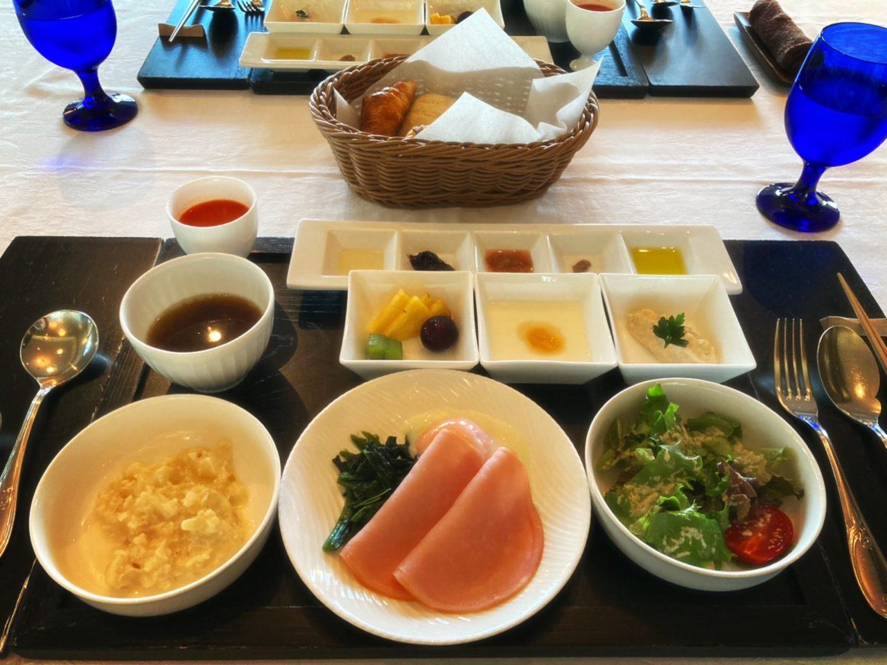 フォンテーヌブロー仙石亭の朝食