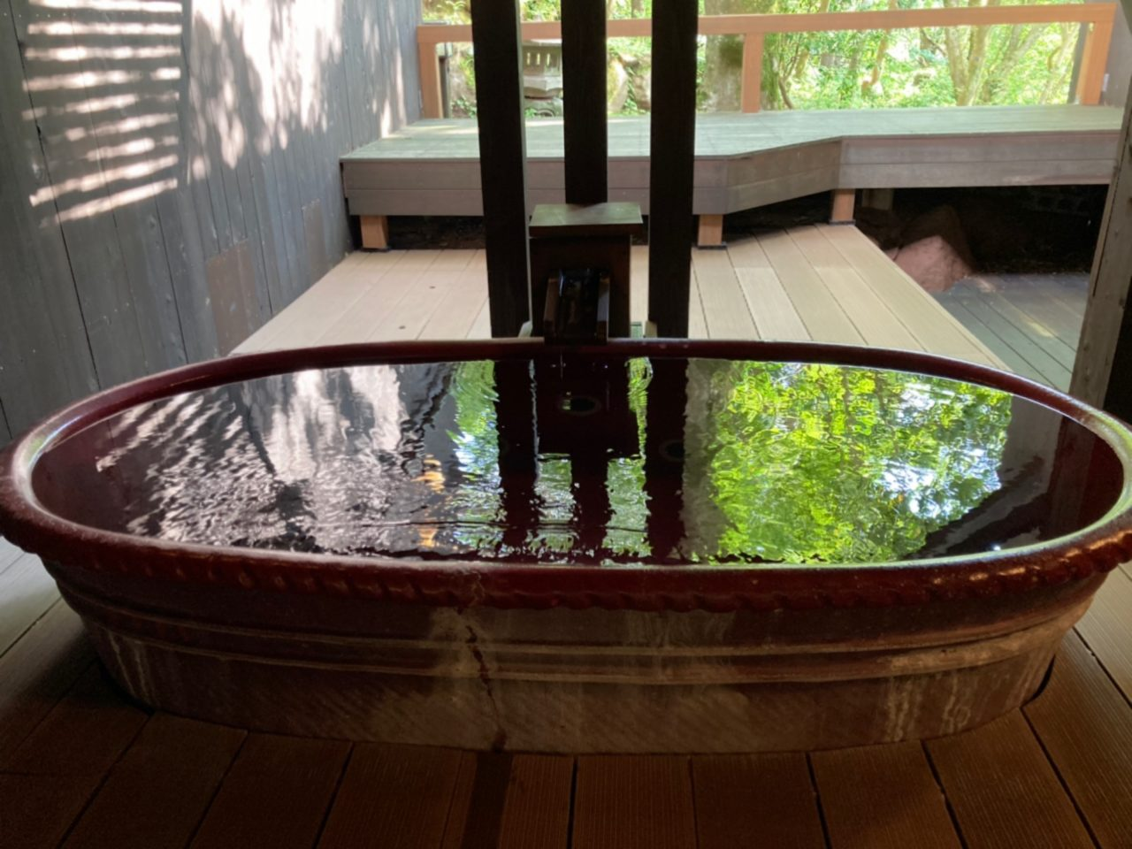 フォンテーヌブロー仙石亭の温泉